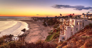 Corona Del Mar Beach Arkivbilder