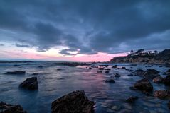 Corona Del Mar, Californië Royalty-vrije Stock Afbeeldingen