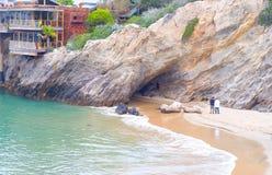 Corona Del Mar California Arkivbild