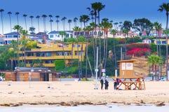 Corona Del Mar California Arkivfoto