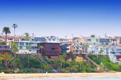 Corona Del Mar California royalty free stock photos