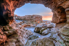 Corona Del Mar-holmening Royalty-vrije Stock Foto's