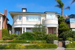 Corona del Mar Home. Expensive house in Corona del Mar, California Stock Photos