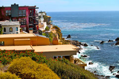 Corona del Mar Homes Royalty Free Stock Image