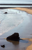 Corona Del Mar Rock and Beach Stock Photos