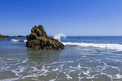 Corona Del Mar Rock Royalty Free Stock Photo