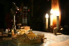Corona del novio Imagenes de archivo