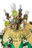 Corona del ornamento de la Navidad fotografía de archivo