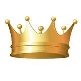 Corona del oro ilustración del vector