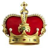 Corona del oro Foto de archivo libre de regalías