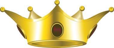 Corona del oro Fotos de archivo