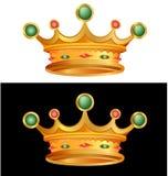 Corona del vector Foto de archivo libre de regalías