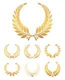Corona dell'alloro illustrazione di stock