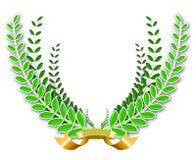 Corona dell'alloro Immagini Stock
