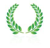 Corona dell'alloro Immagini Stock Libere da Diritti