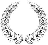 Corona dell'alloro Fotografie Stock Libere da Diritti