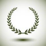 Corona dell'alloro Fotografia Stock