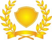 Corona dell'alloro Fotografia Stock Libera da Diritti