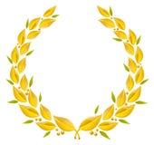 Corona dell'alloro Immagine Stock