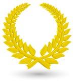 corona dell'alloro 3D Fotografie Stock