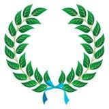 Corona dell'alloro del vincitore royalty illustrazione gratis
