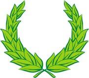 Corona dell'alloro (vettore) illustrazione di stock