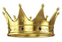 Corona dell'oro Fotografie Stock
