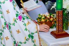 corona della chiesa sull'altare Fotografia Stock Libera da Diritti