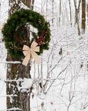 Corona della contea di Natale Fotografia Stock