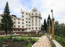 Corona di Altai del sanatorio Fotografie Stock