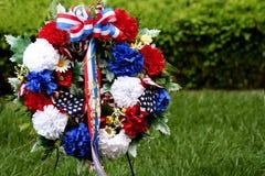 Corona di Giorno dei Caduti Immagini Stock Libere da Diritti