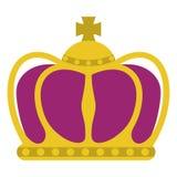 Corona di Mardi Gras illustrazione vettoriale