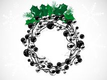 Corona di Natale Immagine Stock