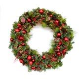 Corona di Natale Fotografie Stock