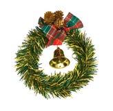 Corona di Natale Immagine Stock Libera da Diritti