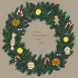 Corona di Natale royalty illustrazione gratis