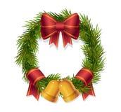 Corona di Natale Illustrazione Vettoriale