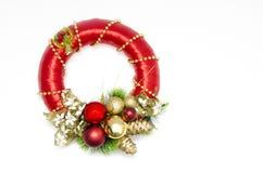 Corona di Natale immagini stock