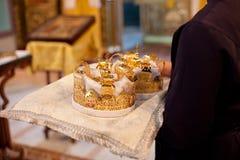 Corona di nozze Immagini Stock Libere da Diritti