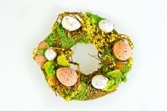 Corona di Pasqua Fotografia Stock