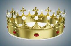 Corona di re Fotografia Stock Libera da Diritti