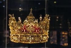 Corona di re Christian IV fotografia stock libera da diritti