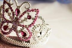 corona di scintillio di principessa del diadema Fotografie Stock Libere da Diritti