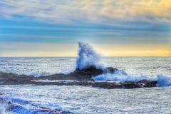Corona di Wave Immagini Stock