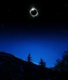 Corona dos Eclips 2006 de Sun Fotografia de Stock
