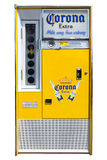 Corona Extra beer. DEN BOSCH, THE NETHERLANDS - MAY 10, 2015: A vintage Corona Extra beer vending machine. In the United States Corona Extra is the top selling royalty free stock photo