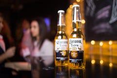 Corona Extra-bier Royalty-vrije Stock Afbeeldingen