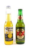 Corona Extra and Dos Equis Stock Photos