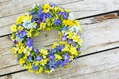 Corona floreale Immagine Stock Libera da Diritti