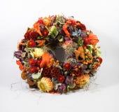 Corona floreale Immagini Stock Libere da Diritti